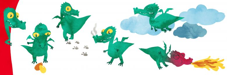 Greeny - dragon concept
