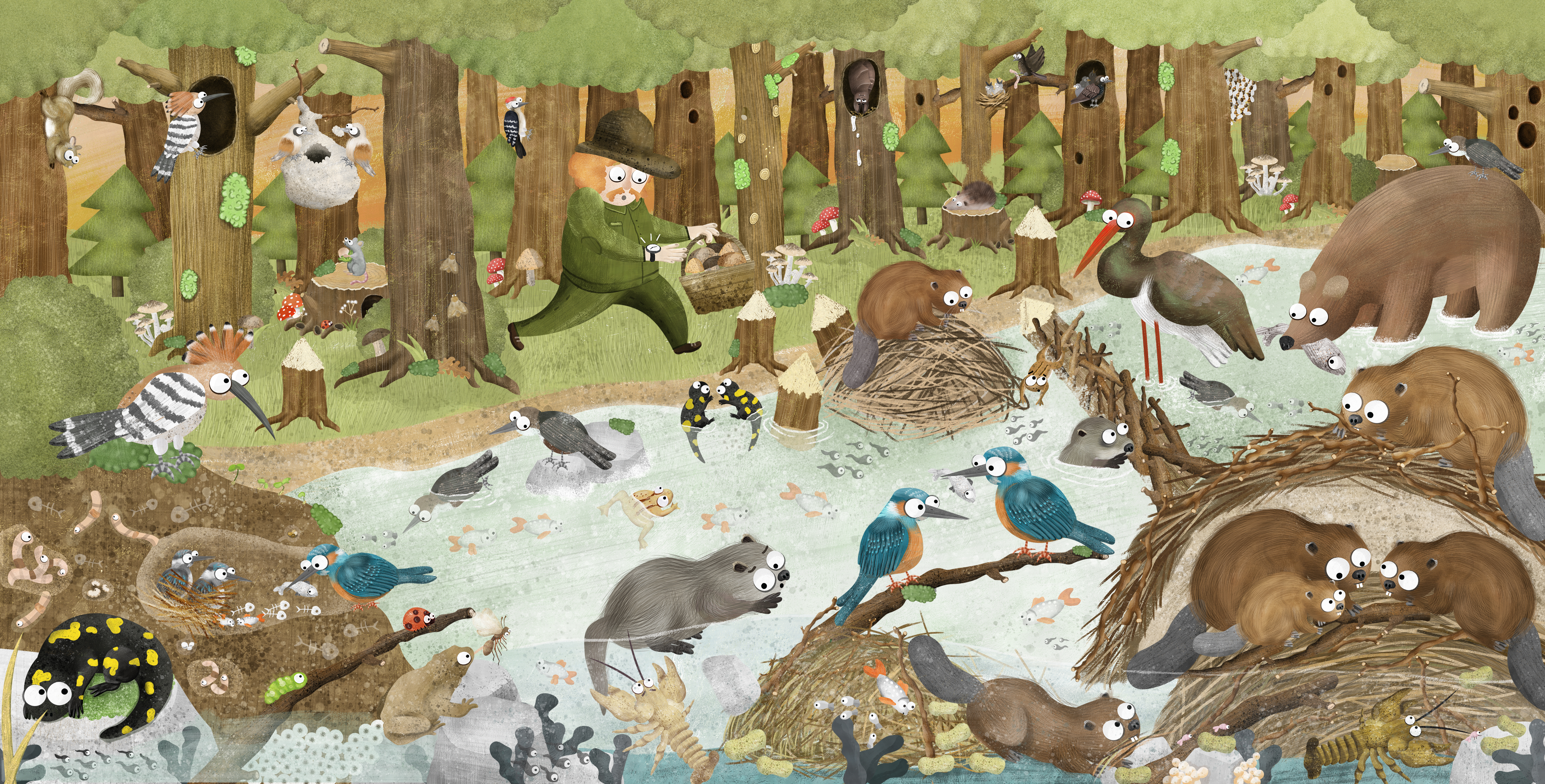 Markéta Nováková: Where the Beaver Does His Business: What animals leave behind