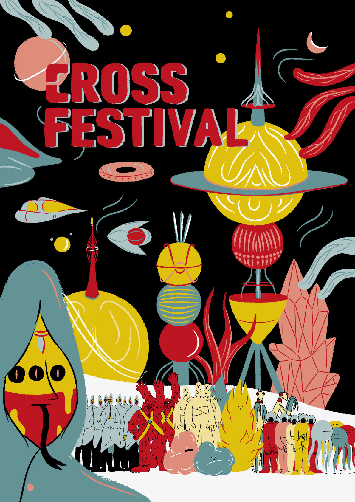 Illustration for Cross Festival